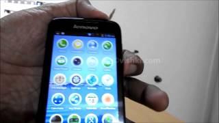 android lenovo a369i screen shot capture