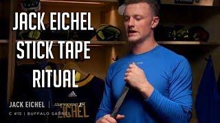 Jack Eichel Stick Tape Ritual