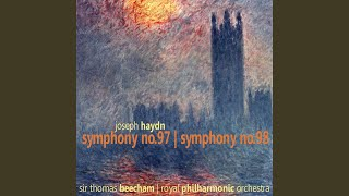 Symphony No. 97 in C Major: III. Menuetto e Trio: Allegretto
