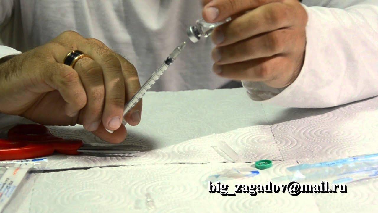 Чем разводить пептиды винстрол вреда
