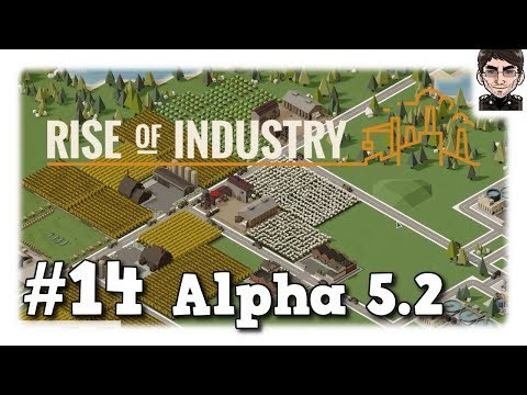 Rise of Industry - Textil Fabrik #14 [deutsch | Let's play]