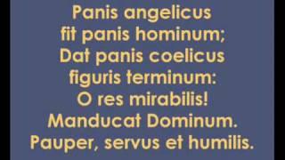 César Franck: Panis Angelicus