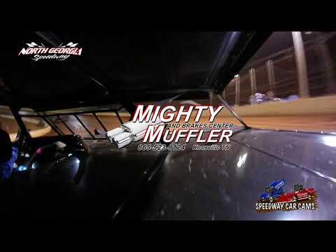 #J4 Colten Jackson - Winner - Sportsman - 11-11-17 North Georgia Speedway - In Car Camera