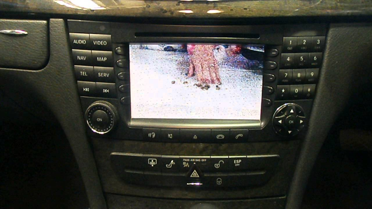 Mercedes E Class Radio Sat Nav Tv 2004 W211 Now