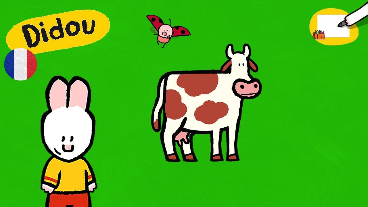 Vache Didou Dessine Moi Une Vache Dessins Animes Pour Les