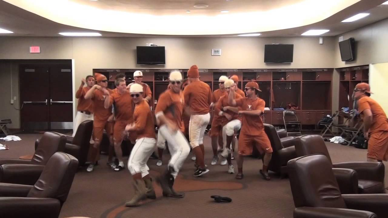 Texas Baseball Locker Room