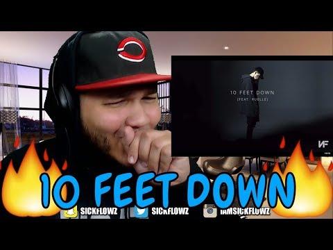 NF - 10 Feet Down (Audio) ft. Ruelle REACTION!!