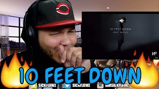 NF - 10 Feet Down (Audio) ft. Ruelle REACTION!!
