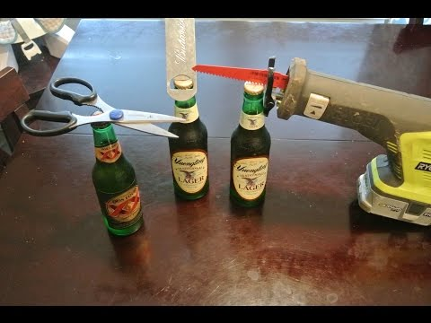 50 Ways to Open a Beer Bottle Part 1