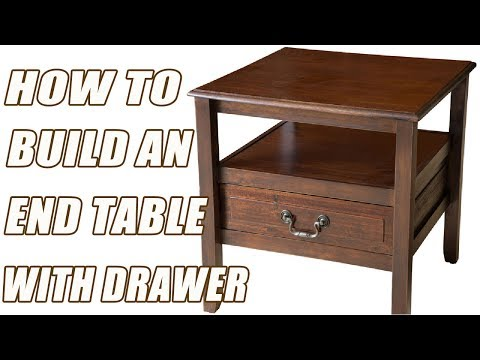 How To Build An End Table The Simple Way