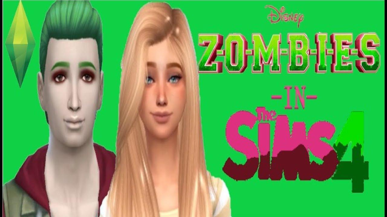 Create a sim(s) Zombies (DCOM) Zed and Addison #1