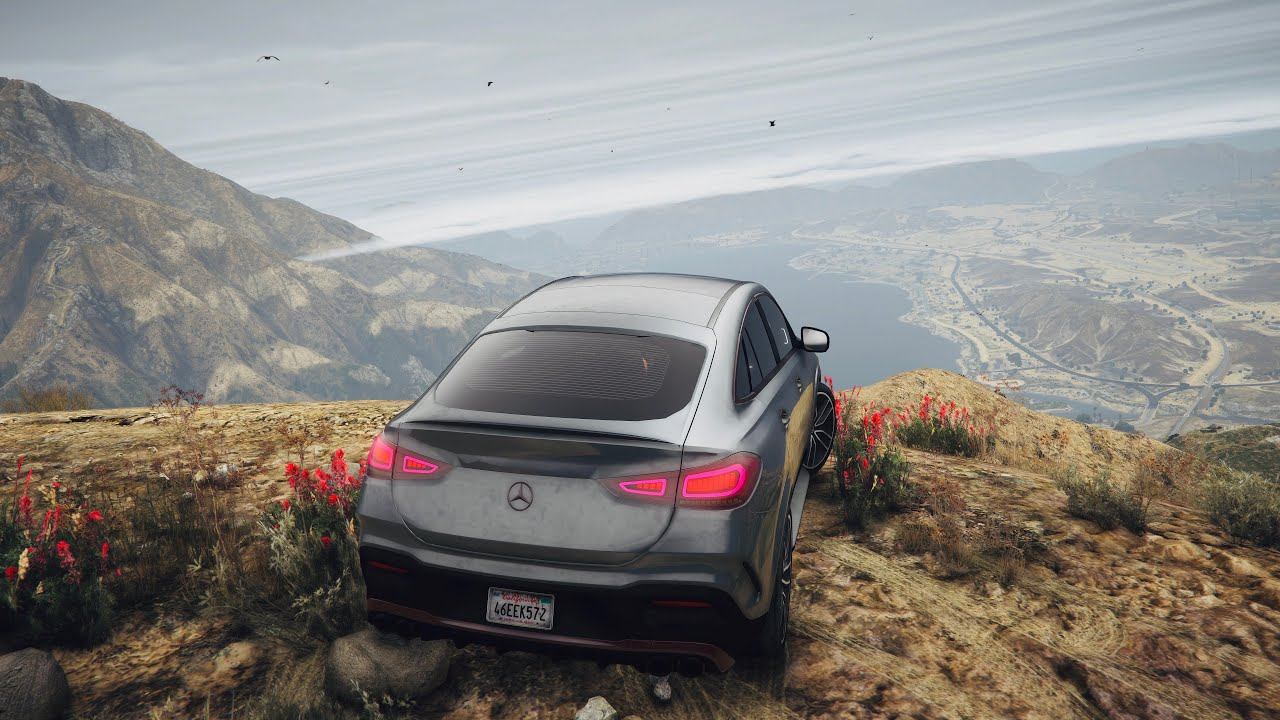 GTA 5 8K PC ULTRA REALISTIC Graphics - OFF ROAD - Mercedes-AMG GLE 53 Coupe 2020