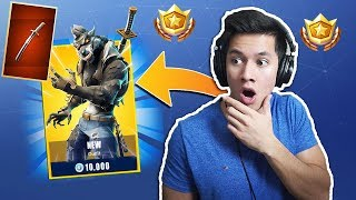 FINALLY GETS THE WEREWOLF SKINNET! -FORTNITE ENGLISH