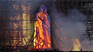 Do You See Jesus Christ Amid Flames of Notre Dame