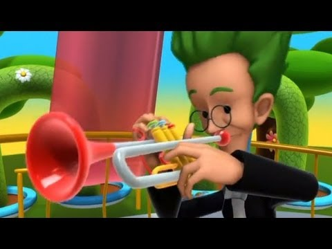 Trumpet  Alex and the Music, Cartoon for toodlers and kids