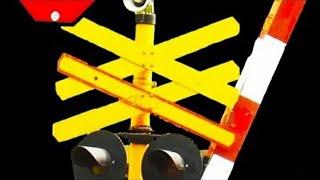 Railroad Crossing Indonesia 1 - Perlintasan Kereta Api KRL Jakarta Spesial Ulang Tahun