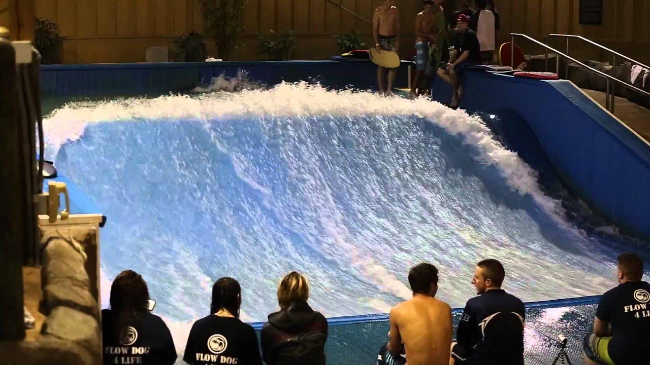 Best trick contest Six Flags Great Escape Flow Dogs Event Pt1