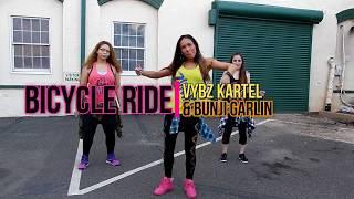 bicycle ride vybz bunji garlin with nikki cordero zumba