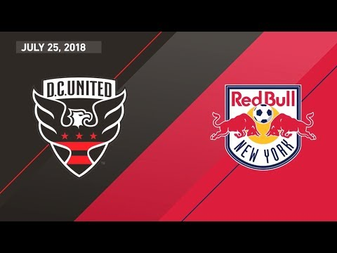 HIGHLIGHTS: D.C. United vs. New York Red Bulls | July 25, 2018