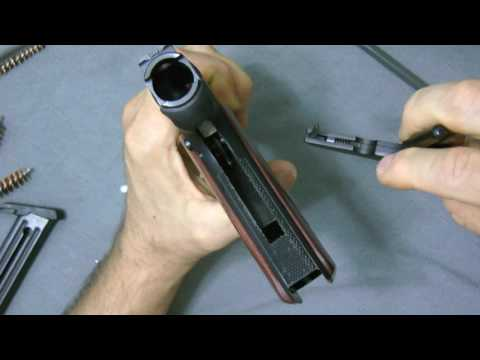Ruger 22 45 Talo Takedown and Cleaning