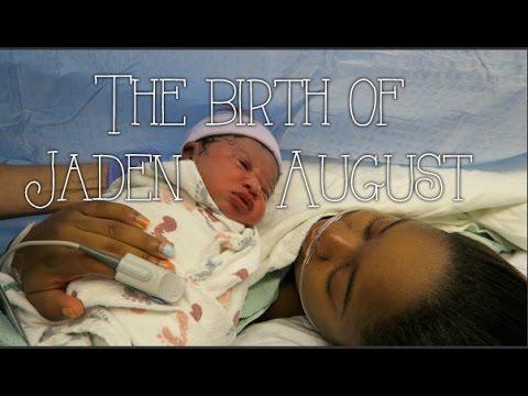 The Birth of Jaden August - Roodianne Birth Vlog // 8.27.15