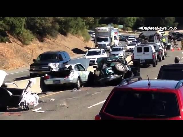 #Highway17 crash acene