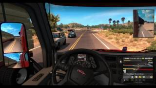 G27 racing wheel and ATS IN Linux 4K TRUCKING IN LINUX VOL. 1
