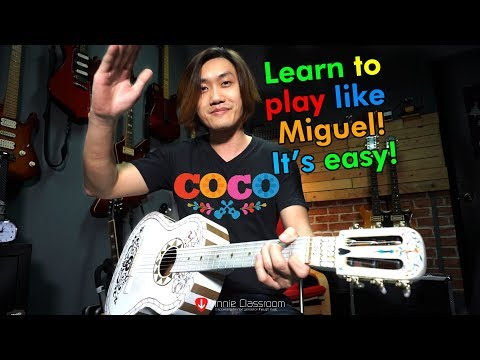 Remember Me (Coco Disney.Pixar) - Guitar Tutorial, Lullaby Verison
