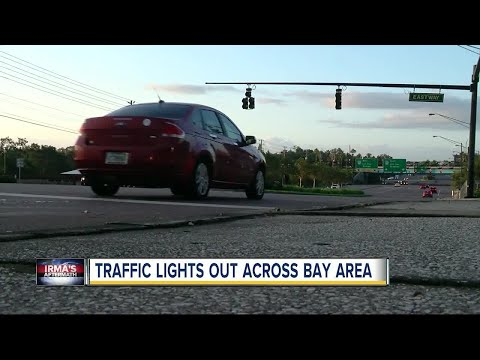 Alert: Widespread traffic signal outages pose danger to Tampa Bay drivers