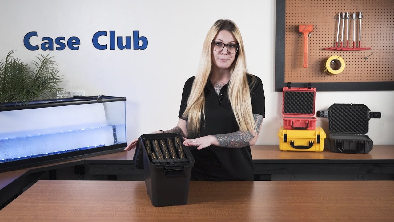 Case Club 15 AR15 & 10 Pistol Magazine Box - Overview - Video