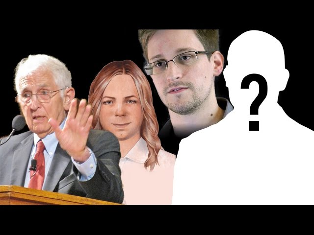 Snowden blows the whistle on what it's like to be a whistleblower