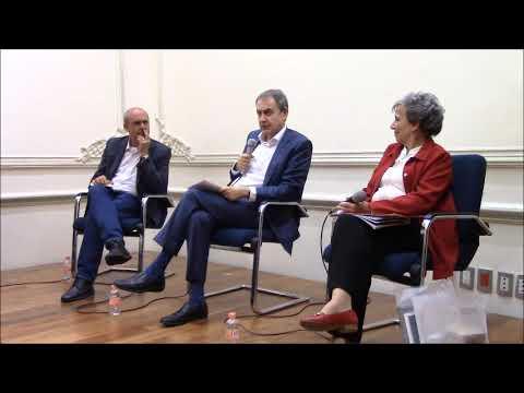Visita de José Luis Rodríguez Zapatero al Ateneo Español de México