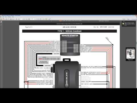 part i how to car alarm remote start system installation 14 02 remote starter installation