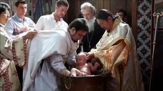 Крещение и Божественная Литургия в Православной Церкви Кореи