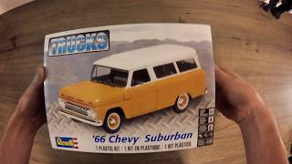 66 Chevy Suburban UNBOXING