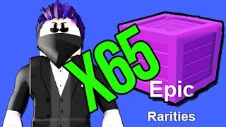 I OPENED * 65 EPIC CRATES * MINING SIMULATOR • ROBLOX [#138]