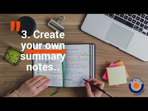 Exam Revision 5 Key Tips- The Apprentice Academy