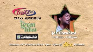 Jes Ebrahim Live at Traxx Momentum Interview on KLEFF2014 Green Vibes