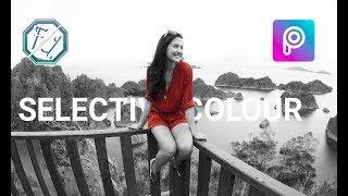 Cara Edit Foto Selective Colour di Picsart