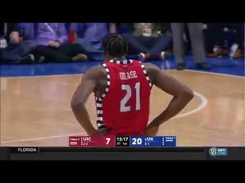 UIC vs Kentucky   NCAA Men's Basketball November 26, 2017