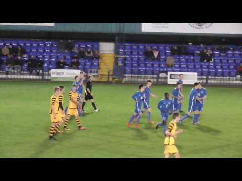 TONBRIDGE ANGELS U18 VS MAIDSTONE UTD U18 - FA Youth Cup highlights 19/10/2016