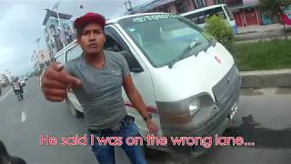 ALMOST GOT HIT BY AN IDIOT - ROAD RAGE