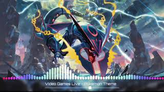 Games Live - Pokémon Theme (TheFatRat Remix) with Jason Paige