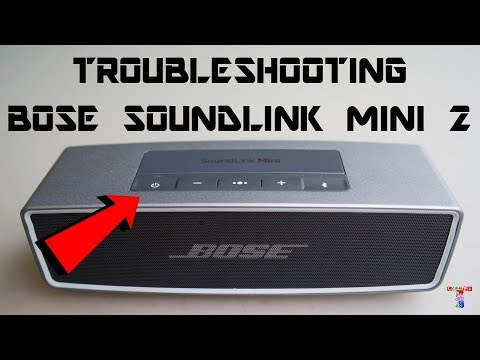 FIX Bose Soundlink Mini 2 Speaker Not Charging /not turning ON / not connecting