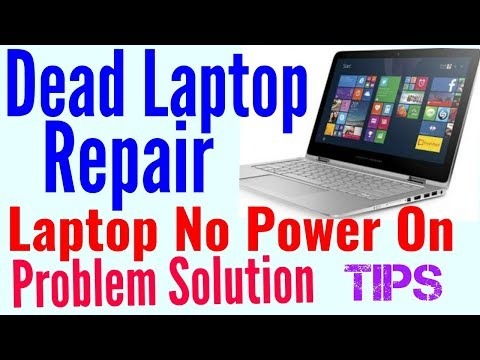 Dead Laptop Repair || How To Fix Laptop NO Power on Solution Tips || Laptop Repair