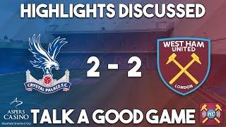 Video Gol Pertandingan Crystal Palace vs West Ham United
