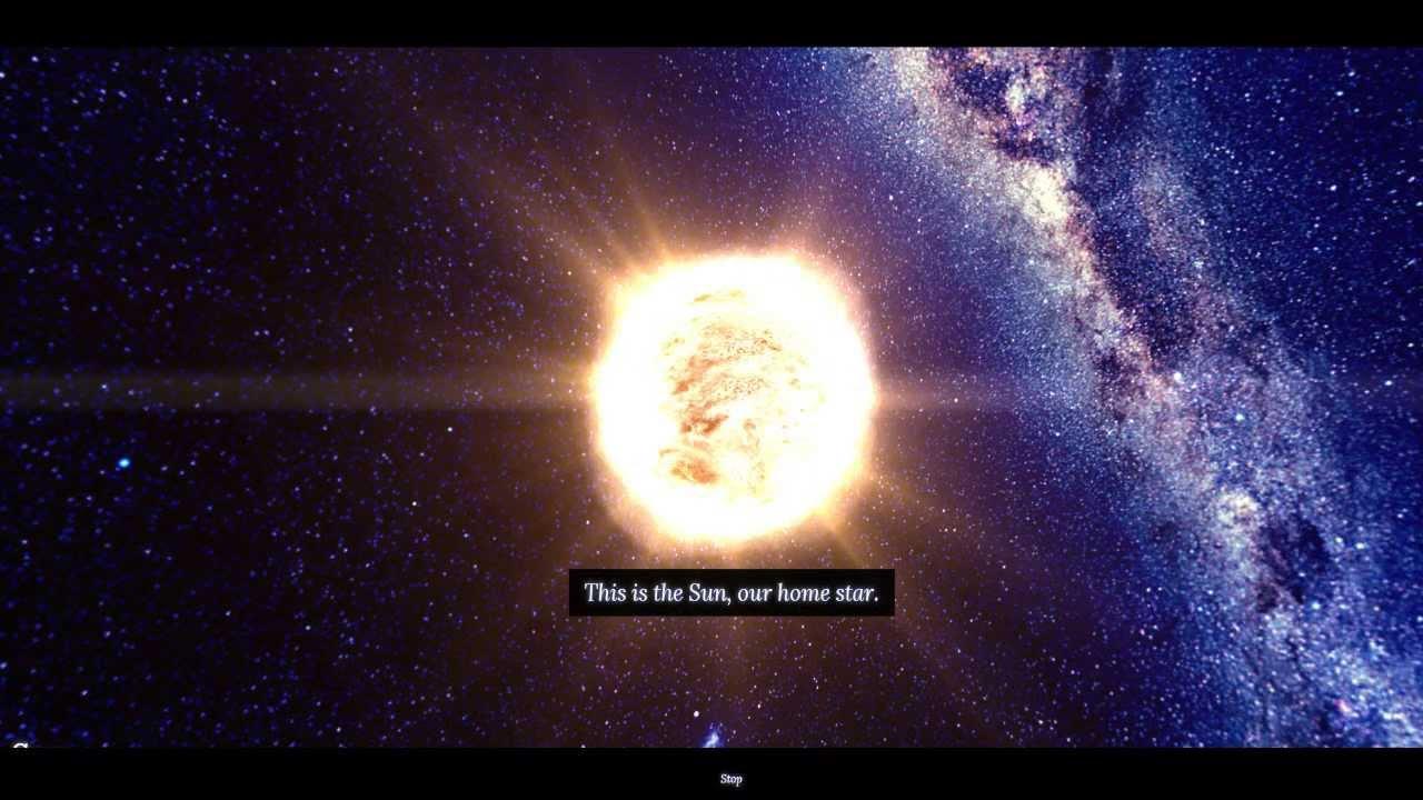 Sun and Earth Vs Universe - YouTube