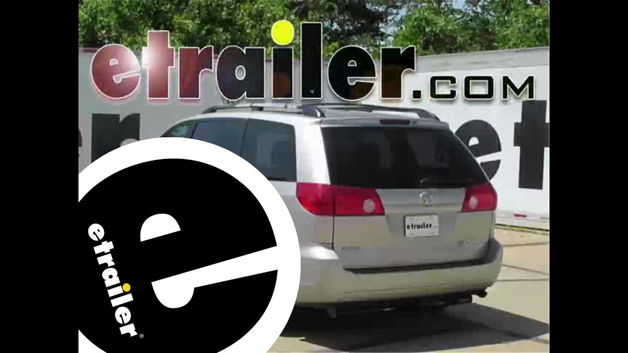 install trailer hitch 2009 toyota sienna c13105 etrailercom YouTube