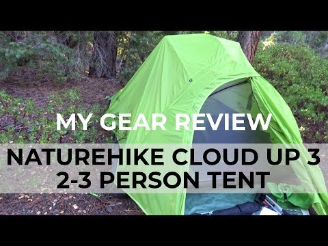 REVIEW: Lightweight Naturehike Cloud Up 3 - 2 or 3 Person Tent