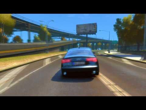 Audi A6 + Enb + Road Textures